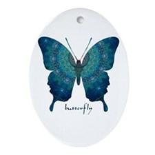 Mercy Butterfly Ornament (Oval)