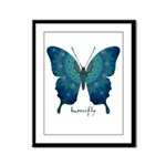 Mercy Butterfly Framed Panel Print