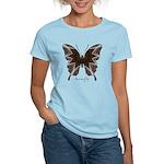 Namaste Butterfly Women's Light T-Shirt