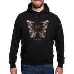 Namaste Butterfly Hoodie (dark)