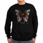 Namaste Butterfly Sweatshirt (dark)