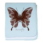 Namaste Butterfly baby blanket