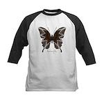 Namaste Butterfly Kids Baseball Jersey