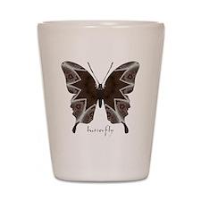 Namaste Butterfly Shot Glass