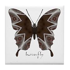 Namaste Butterfly Tile Coaster