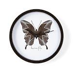 Namaste Butterfly Wall Clock