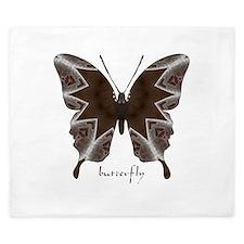 Namaste Butterfly King Duvet