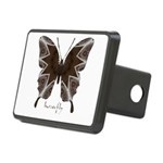 Namaste Butterfly Rectangular Hitch Cover
