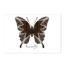 Namaste Butterfly Postcards (Package of 8)