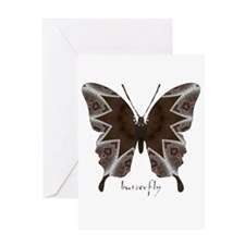 Namaste Butterfly Greeting Card