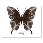 Namaste Butterfly Small Poster