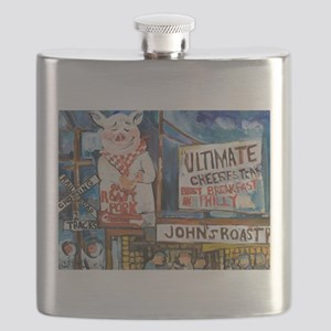 Philadelphia Johns Roast Pork Flask