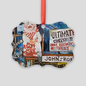 Philadelphia Johns Roast Pork Picture Ornament