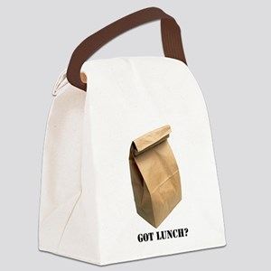 got lunch Canvas Lunch Bag