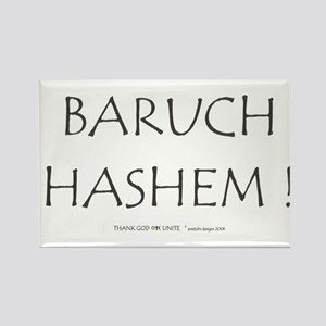 BARUCH HASHEM! Rectangle Magnet