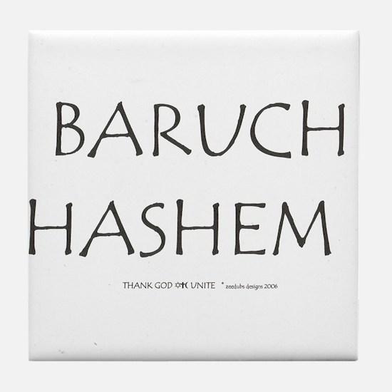 BARUCH HASHEM! Tile Coaster