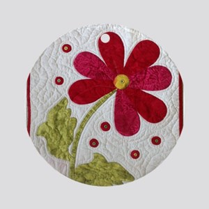 Give Yourself Flowers Today Ornament (Round)