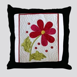 Give Yourself Flowers Today Throw Pillow