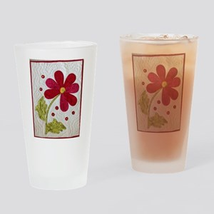 Give Yourself Flowers Today Drinking Glass