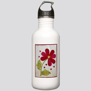 Give Yourself Flowers Today Stainless Water Bottle