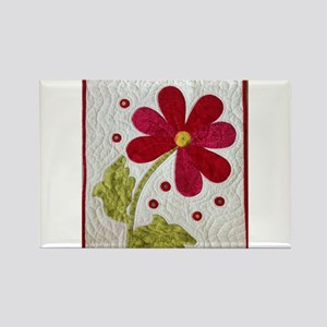 Give Yourself Flowers Today Rectangle Magnet