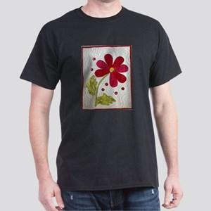 Give Yourself Flowers Today Dark T-Shirt