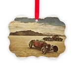 Hot Rods at Bonneville Picture Ornament