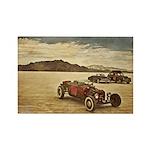 Hot Rods at Bonneville Rectangle Magnet (100 pack)