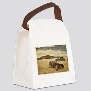 Hot Rods at Bonneville Canvas Lunch Bag