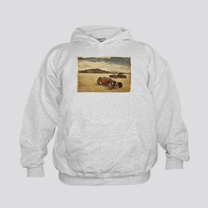 Hot Rods at Bonneville Kids Hoodie