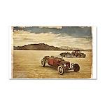 Hot Rods at Bonneville Car Magnet 20 x 12