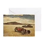 Hot Rods at Bonneville Greeting Card