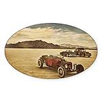 Hot Rods at Bonneville Sticker (Oval 50 pk)
