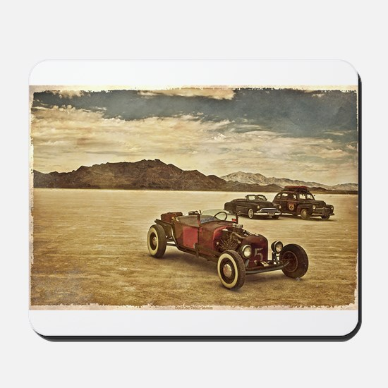 Hot Rods at Bonneville Mousepad