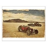Hot Rods at Bonneville Small Poster