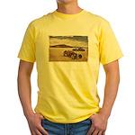 Hot Rods at Bonneville Yellow T-Shirt