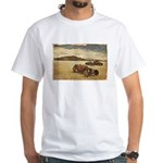 Hot Rods at Bonneville White T-Shirt