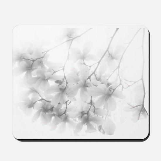 Ethereal Magnolia Blossoms Mousepad