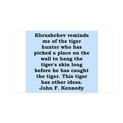 kennedy quote Wall Decal