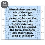 kennedy quote Puzzle