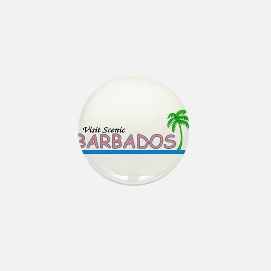 Cool Barbados Mini Button