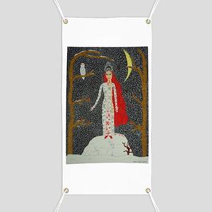 Snow Maiden (Red Version) Banner