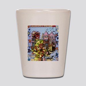 Philadelphia Mummers Parade Shot Glass