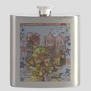 Philadelphia Mummers Parade Flask