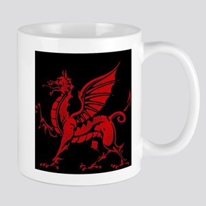 Welsh Red Dragon Mug