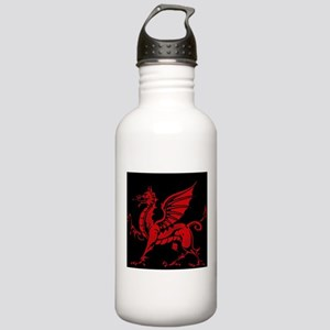 Welsh Red Dragon Stainless Water Bottle 1.0L