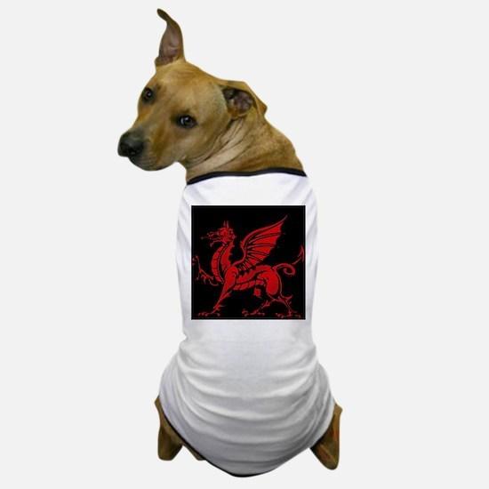Welsh Red Dragon Dog T-Shirt