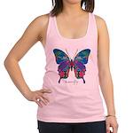 Exuberant Butterfly Racerback Tank Top