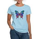 Exuberant Butterfly Women's Light T-Shirt