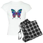 Exuberant Butterfly Women's Light Pajamas
